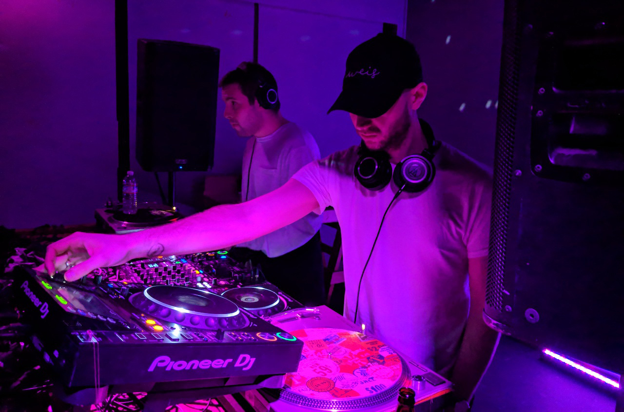 Huerco S. and DJ Python in San Francisco