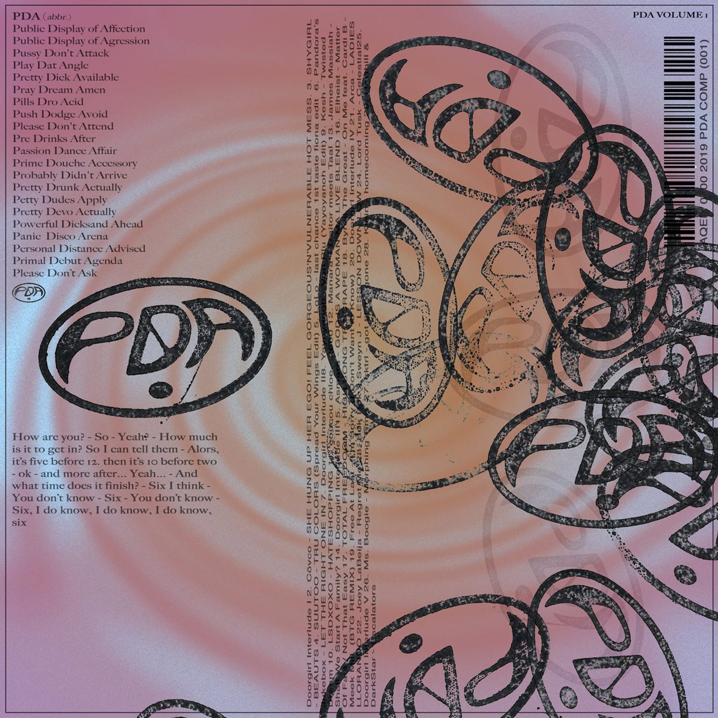 Various - PDA Compilation Vol. 1: And The Beat Goes On